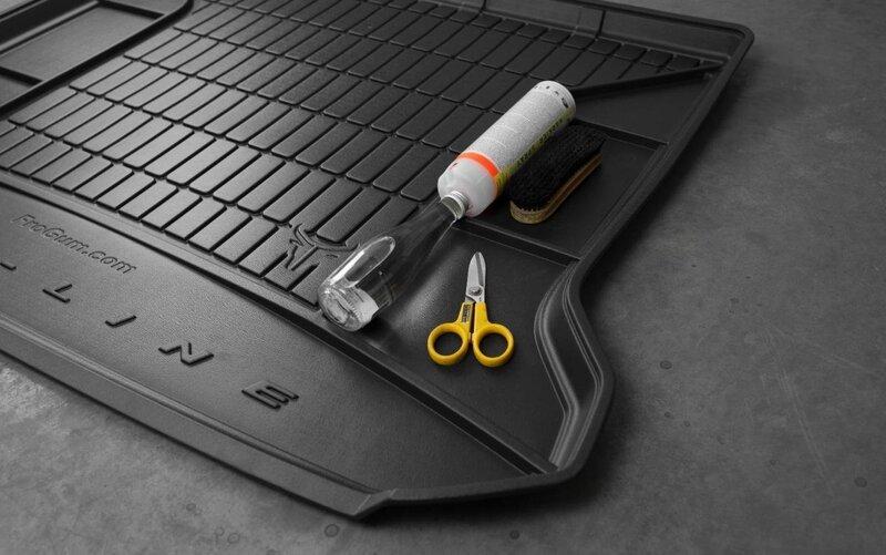 Guminis bagažinės kilimėlis Proline MERCEDES B-CLASS W246 nuo 2012