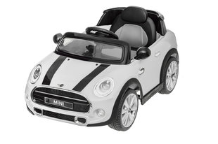 Электрический детский автомобиль Mini Cooper S, 12V, белый