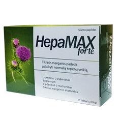 Maisto papildas HepaMax Forte tabletės, N30 kaina ir informacija | Vitaminai ir maisto papildai gerai savijautai | pigu.lt