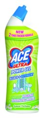 Gelinis tualeto valiklis ACE ULTRA Power Lemon, 0,75 L