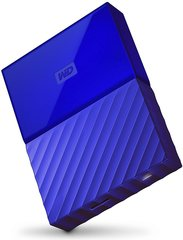 "WD My Passport 2.5"" 4 TB, USB 3.0, Mėlyna"