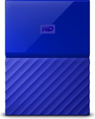 "WD My Passport 2.5"" 2 TB, USB 3.0, Mėlyna"