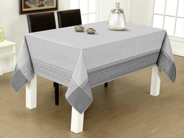 Staltiesė Lux Grey, 120x220 cm kaina ir informacija | Staltiesės, virtuviniai rankšluosčiai | pigu.lt