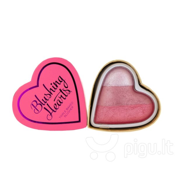 Skaistalai Makeup Revolution London Blushing Hearts 10 g