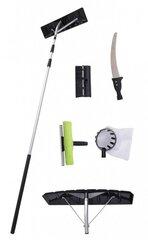 Teleskopinis daugiafunkcinis įrankis (sodui, sniego, langų valymui) HECHT 631 SET