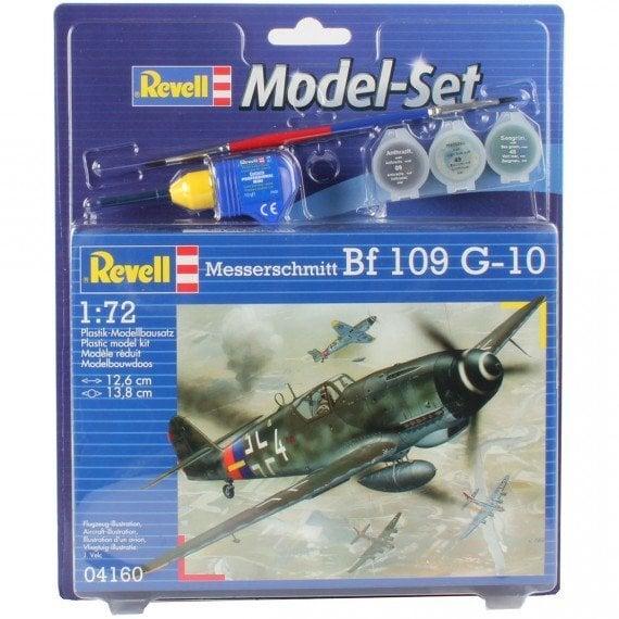 Lėktuvas - modelis Revell Messerschmitt Bf 109 G-10