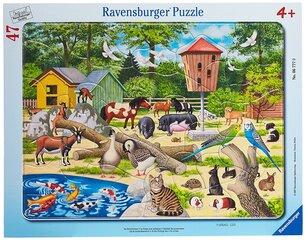 Dėlionė Ravensburger zoologijos sodas 47 detalės, 06777