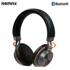 Remax RB-200HB Luxury Hi-End Audio Bluetooth Stereo 40mm Headphones 3.5mm Aux / Phone call Black (1)