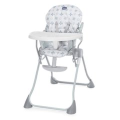 Maitinimo kėdutė Chicco Pocket Meal, Light Grey