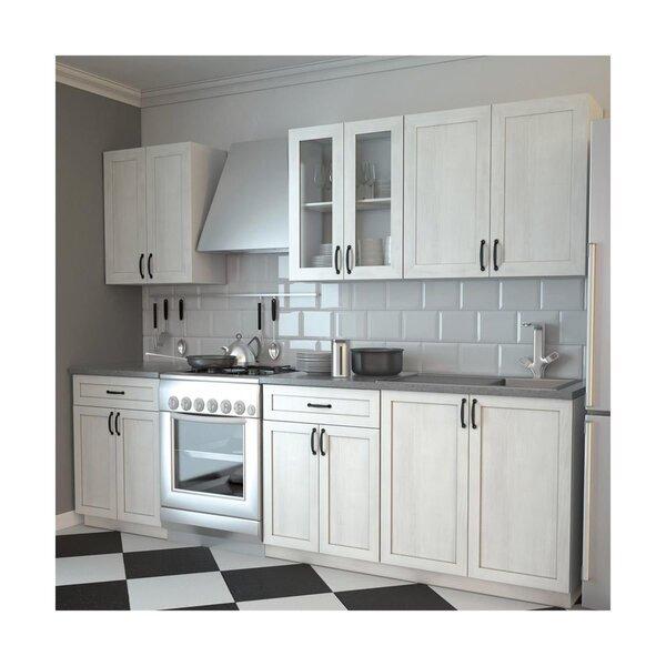 Virtuvinių spintelių komplektas Aniela kaina ir informacija | Virtuvės baldų komplektai | pigu.lt