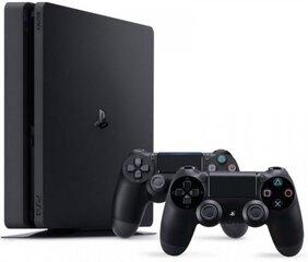 Sony Playstation 4 (PS4) Slim, 1TB + 2 valdymo pulteliai kaina ir informacija | Žaidimų konsolės | pigu.lt