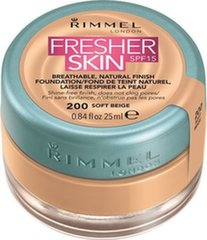 Kreminė pudra Rimmel London Fresher Skin SPF15 25 ml