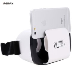 "Remax RT-VM02 3D Universal 3.5-6"" Smartphone Virtual Reality VR Glasses with Easy and Smart Fix White"