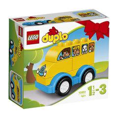 10851 LEGO® DUPLO Mano pirmasis autobusas kaina ir informacija | Konstruktoriai ir kaladėlės | pigu.lt