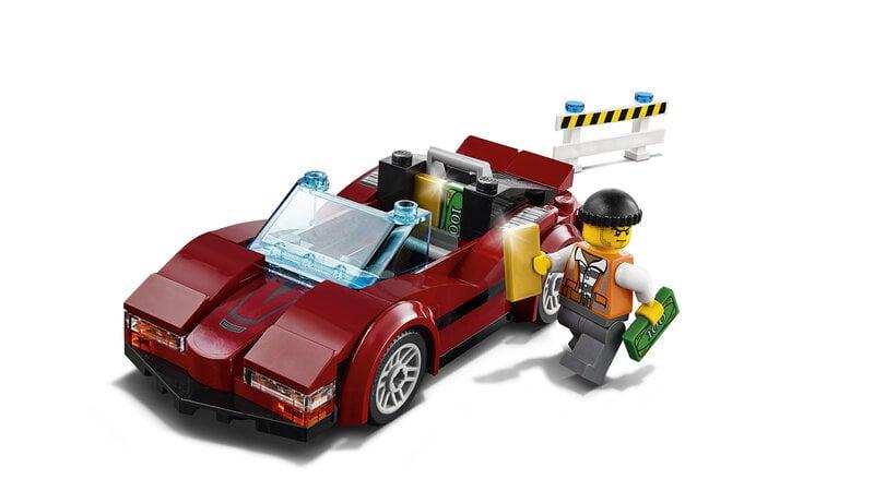 60138 LEGO® CITY Pašėlusios gaudynės internetu