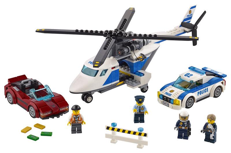 60138 LEGO® CITY Pašėlusios gaudynės atsiliepimas