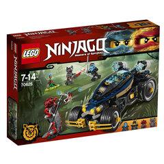 Konstruktorius LEGO® NINJAGO Samurajaus keturratis 70625 kaina ir informacija | Konstruktoriai ir kaladėlės | pigu.lt
