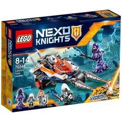 Konstruktorius LEGO® NEXO KNIGHTS Lance dviejų iečių kautynių mašina 70348 kaina ir informacija | Konstruktoriai ir kaladėlės | pigu.lt