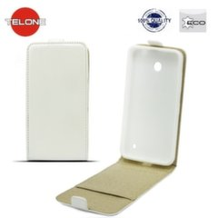 Telone Shine Pocket Slim Flip Case Samsung J320F Galaxy J3 (2016) vertical book case White