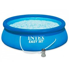 Бассейн Intex Easy Set 396 x 84 cм с фильтром цена и информация | Бассейн Intex Easy Set 396 x 84 cм с фильтром | pigu.lt