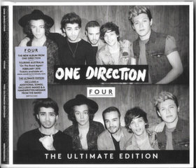 "CD ONE DIRECTION ""Four"""