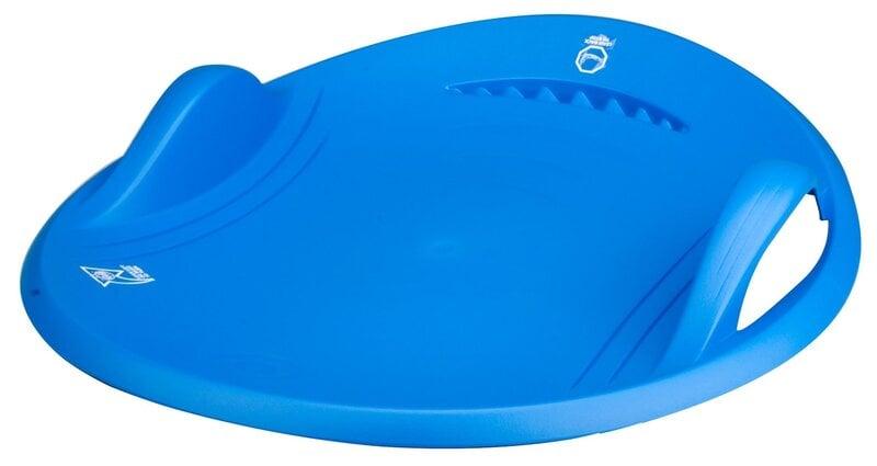 Apvali plastikinė čiuožynė NIJDAM Mėlyna
