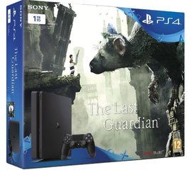 Sony PlayStation 4 (PS4) Slim, 1TB (2016) + The Last Guardian