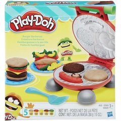 Plastilino rinkinys Play Doh Burger Barbecue, B5521