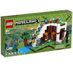 21134 LEGO® Minecraft Krioklio bazė kaina ir informacija | Konstruktoriai ir kaladėlės | pigu.lt
