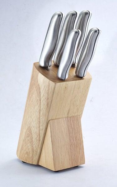 Amberr peilių rinkinys, 6 dalių kaina ir informacija | Peiliai ir jų priedai | pigu.lt