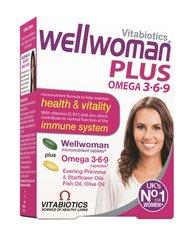 Maisto papildas Wellwoman Plus Omega 3 6 9 kapsulės / tabletės, N28+28 kaina ir informacija | Vitaminai ir maisto papildai imunitetui | pigu.lt