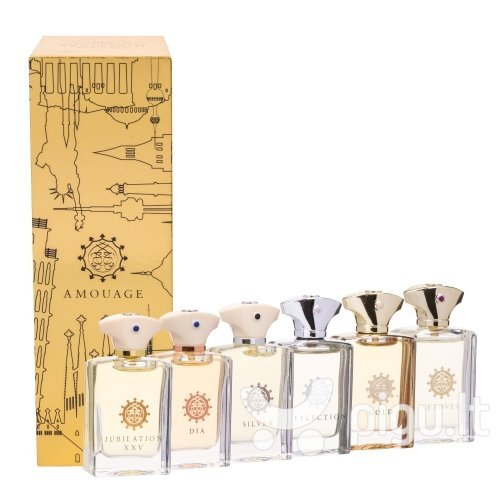 Rinkinys Amouage Miniature Classic Collection: EDP vyrams 6 x 7.5 ml