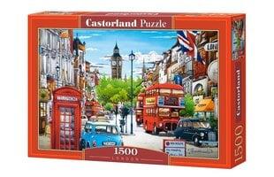 "Dėlionė Puzzle Castorland, 1500 det. ""London"""