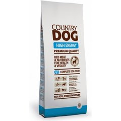 Country dog high energy, 15 kg