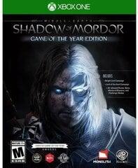Middle-Earth: Shadow of Mordor GOTY, Xbox One kaina ir informacija | Kompiuteriniai žaidimai | pigu.lt