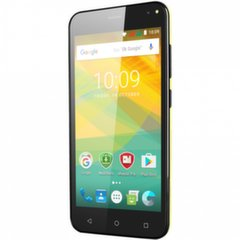 Prestigio Wize NV3 PSP3537DUO Dual SIM, Geltona kaina ir informacija | Mobilieji telefonai | pigu.lt