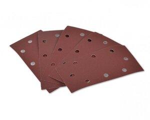 Šlifavimo padas vibraciniam šlifuokliui HECHT 000176220, 120 kaina ir informacija | Šlifuokliai | pigu.lt
