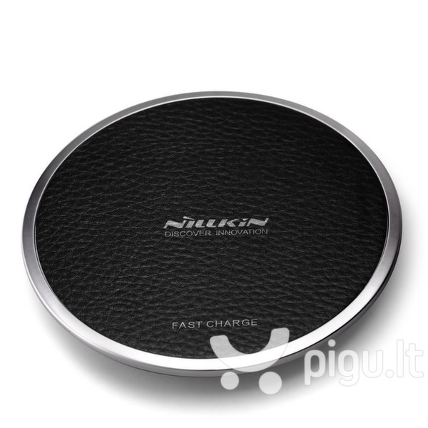 Belaidis kroviklis Nillkin Magic Disc 3 Wireless Charger, juodas