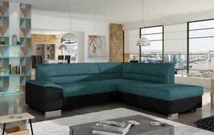 Minkštas kampas Verso, žalias/juodas kaina ir informacija | Sofos, foteliai ir minkšti kampai | pigu.lt