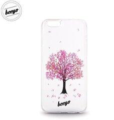 Apsauginis dėklas dėklas Beeyo Blossom skirtas Samsung Galaxy J5 (J500F), Balta/Rožinė