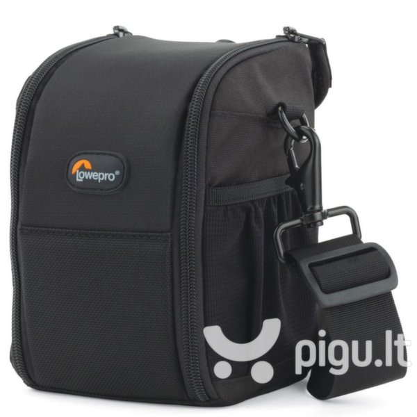 LowePro LP36446 SF Lens Exchange Case 100 AW (11x11x17cm) Univesal DSLR Camera Lens Bag Black