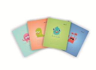 Mokyklinis sąsiuvinis, 12 lapų, linija kaina ir informacija | Sąsiuviniai ir popieriaus prekės | pigu.lt