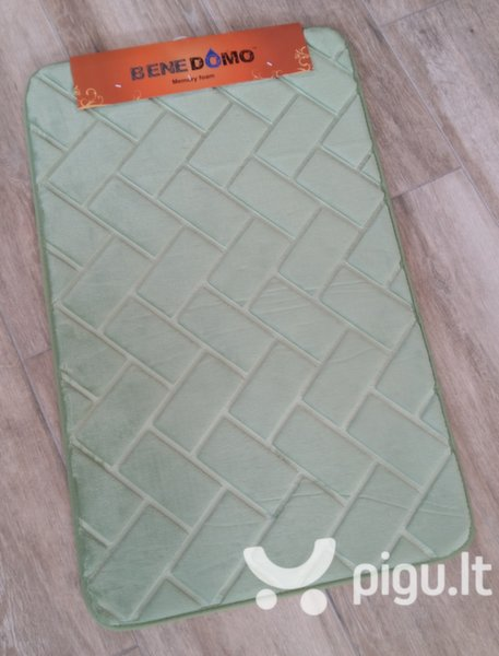 "Memory foam kilimėlis ""Benedomo"" Green, 50x80 cm"