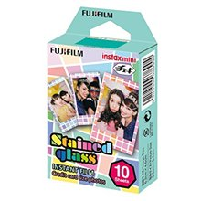 Foto lapeliai Fujifilm Instax Mini Stained Glass Instant Film Quantity 10, 86 x 54 mm