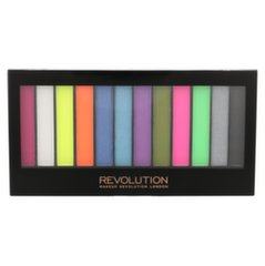Akių šešėlių paletė Makeup Revolution London Redemption Acid Brights 14 g