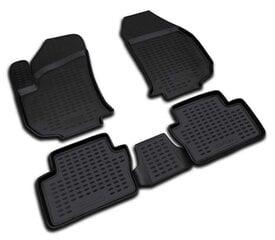 Guminiai kilimėliai 3D OPEL Zafira 2005-2011, 4 pcs. /L51025