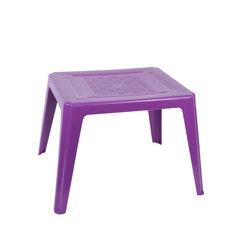 Plastikinis vaikiškas staliukas, violetinis