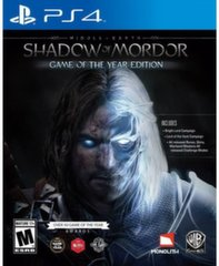 Middle-Earth: Shadow of Mordor GOTY, PS4