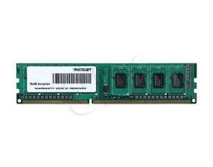 PATRIOT MEMORY DIMM 8GB PC12800 DDR3/PSD38G16002 kaina ir informacija | PATRIOT MEMORY DIMM 8GB PC12800 DDR3/PSD38G16002 | pigu.lt