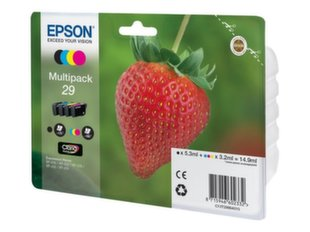 EPSON Multipack 4-colours 29 Claria Home Ink (Blister without alarm) kaina ir informacija | EPSON Multipack 4-colours 29 Claria Home Ink (Blister without alarm) | pigu.lt
